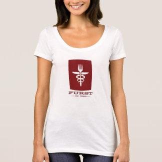 50.as Aniversario-Mujeres de Furst rojas Camiseta