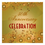 50.as invitaciones del aniversario de boda del vin invitaciones personales