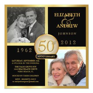 Miles de diseños disponibles de invitaciones para aniversarios de boda