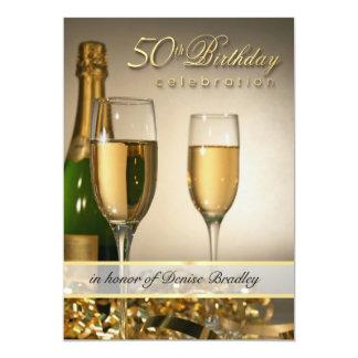 50.as invitaciones personalizadas de la fiesta de invitación 12,7 x 17,8 cm