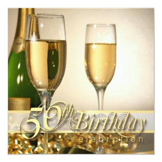 50.as invitaciones personalizadas de la fiesta de invitación 13,3 cm x 13,3cm