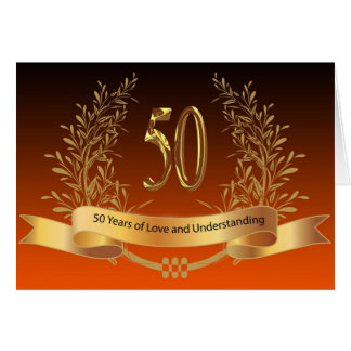50.as tarjetas felices del aniversario de boda