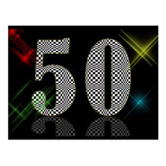 50 deslumbre postales