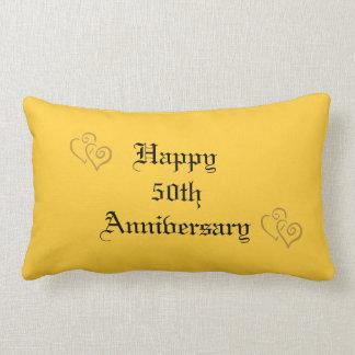 50.o Almohada del aniversario de boda