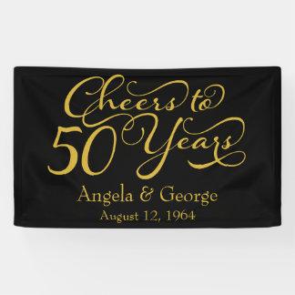 50.o aniversario de boda de oro personalizado