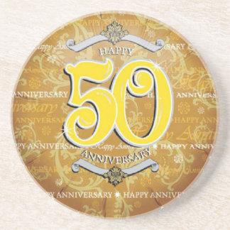 50.o Aniversario de boda Posavasos Para Bebidas