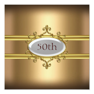 50.o aniversario del cumpleaños del oro