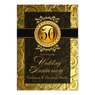 50.o aniversario grabado en relieve encanto comunicado personal