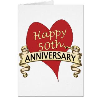 50 o Aniversario Tarjeton
