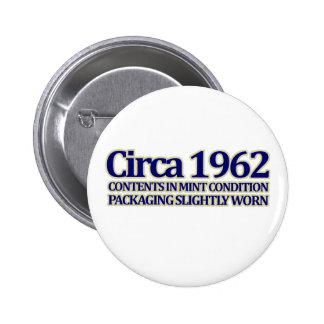 50 o Birthday 1962 Pins