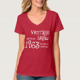 50.o Brew 1963 del vintage del regalo de Camiseta