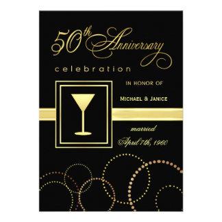 50.o Celebración del aniversario de boda - moderna Comunicados