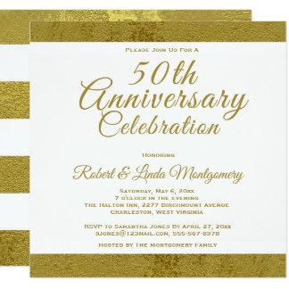 50.o Celebración del aniversario - invitación del