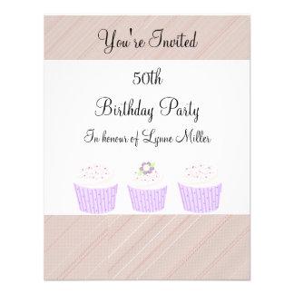 50.o Cumpleaños Invitaciones Personales