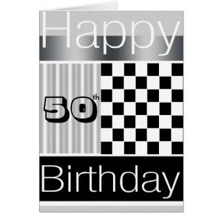 50.o Cumpleaños Felicitación