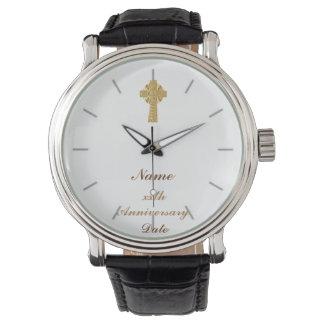 50.o del aniversario décimo quinto del sacerdote relojes