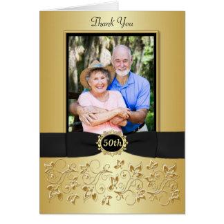 50 o El oro negro del aniversario floral le agrade