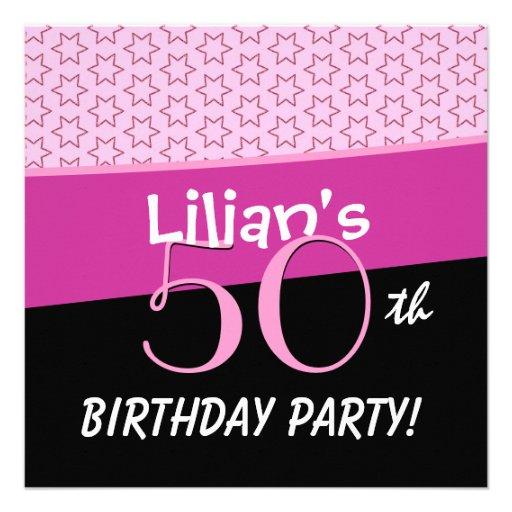50.o El rosa del cumpleaños protagoniza D501 Comunicado Personal