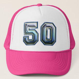 50.o Fiesta de cumpleaños Gorra De Camionero