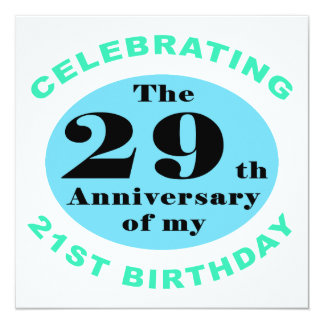 50.o Humor del cumpleaños Invitación 13,3 Cm X 13,3cm