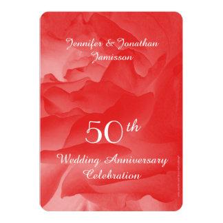 50.o Invitación de la fiesta de aniversario del