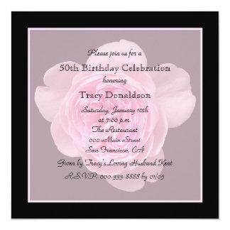 50.o Invitación de la fiesta de cumpleaños subió