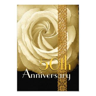 50.o Invitación del aniversario - ORO subió