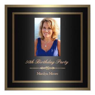 50.o Invitación del cumpleaños - foto