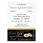 50.o Invitaciones de la fiesta de aniversario Comunicados Personales