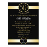 50.o Invitaciones de la fiesta de aniversario del Anuncios Personalizados