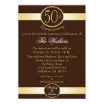 50.o Invitaciones de la fiesta de aniversario en Anuncio Personalizado