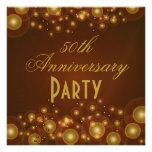 50.o Invitaciones del aniversario de boda Invitaciones Personales