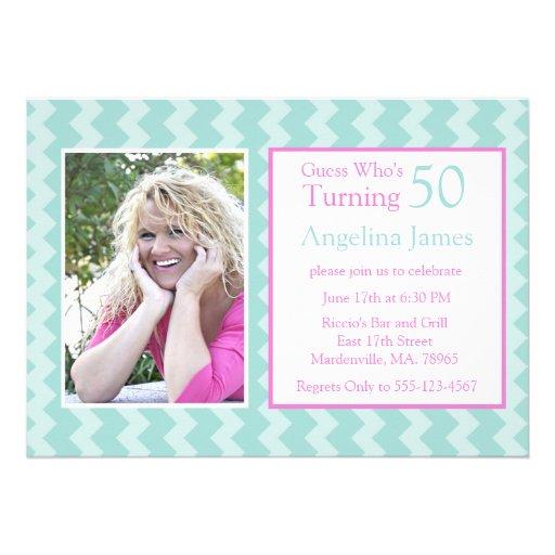 50.o Invitaciones Miami retra de la fiesta de cump Comunicado