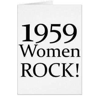 50.o ¡Regalos de cumpleaños, roca de 1959 mujeres! Felicitaciones