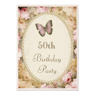 50.o Rosas mariposa, notas del vintage del Comunicado Personal