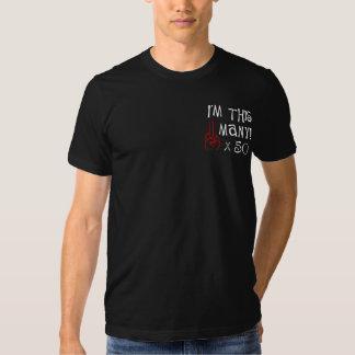 50.o saludo del dedo medio del cumpleaños camiseta