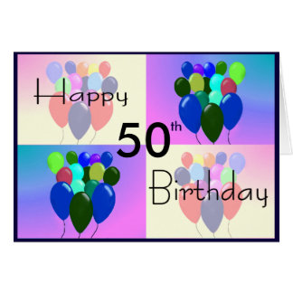 Tarjetas de felicitaci n 50 o cumplea os - Tarjetas 50 cumpleanos ...