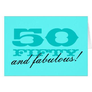 50.o ¡Tarjeta de cumpleaños para las mujeres el | Tarjeta De Felicitación