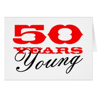 50.o Tarjeta de cumpleaños por 50 años de hombre j
