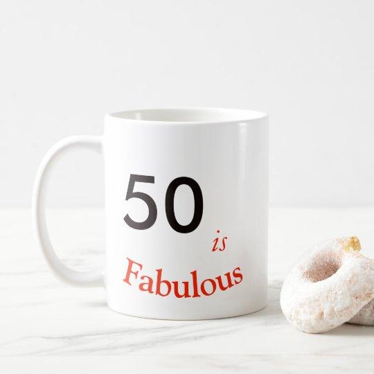 50.o Taza del cumpleaños