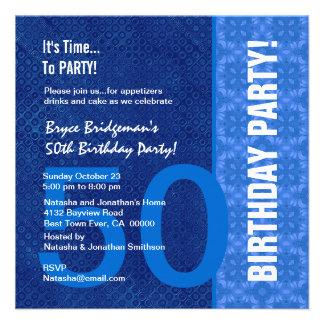 50 o Tonalidades modernas del cumpleaños de B402 a Invitacion Personal