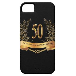 50.os regalos felices del aniversario de boda iPhone 5 carcasa