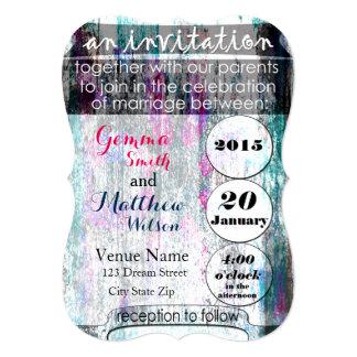 50 sombras de invitación de la dicha del boda invitación 12,7 x 17,8 cm