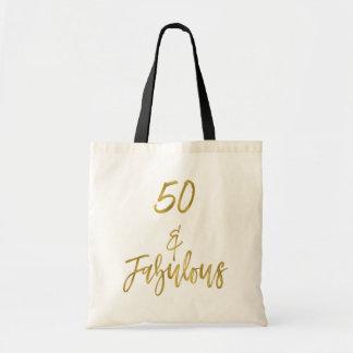 50 y la bolsa de asas fabulosa del cumpleaños de