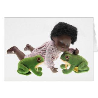 519 Sasha Cara Black bebé postal