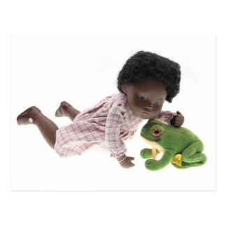 519 Sasha Cara Black bebé tarjeta postal
