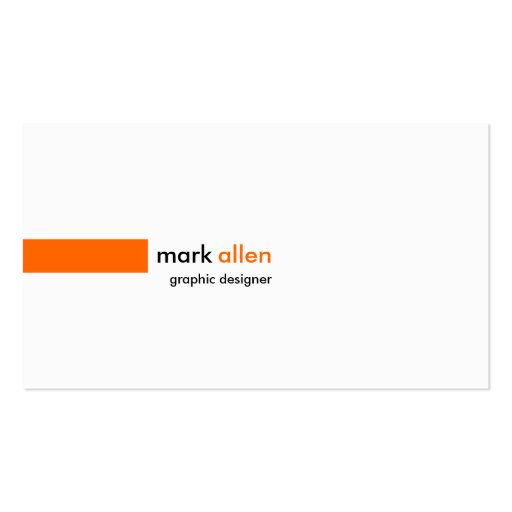 520 modernos de encargo tarjeta personal