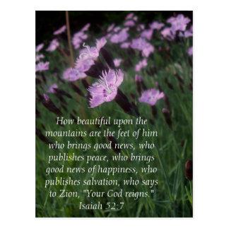 52:7 de Isaías Postales
