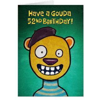 52.a tarjeta de cumpleaños divertida para ella