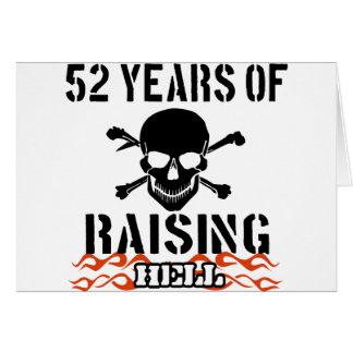 52 años de infierno de aumento felicitaciones